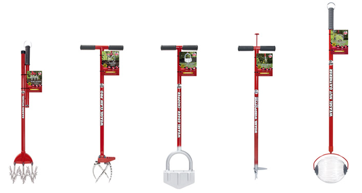 Garden Weasel tools at Lowes